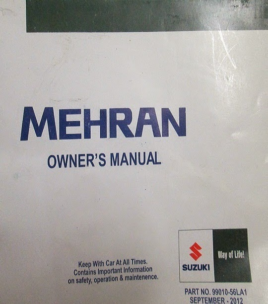 Suzuki-Mehran-Manual-PDF